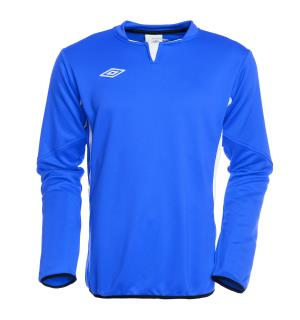 UMBRO Vision Tr Sweat jr Blå/Hvit 140 Teknisk treningsgenser for barn