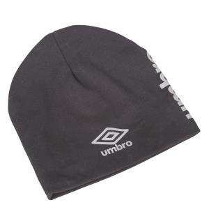 UMBRO Core Cotton Beanie Sort OS Lue i behagelig bomullsblanding