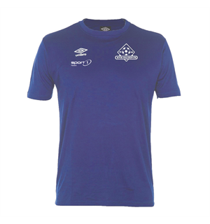 UMBRO Kvik Halden Core Poly Tee Blå JR Kvik Halden FK Trenings T-Shirt Barn
