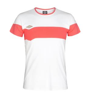 UMBRO Core X Cotton Tee Coral L